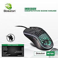 Chuột Bosston M750 LED Gaming - màu ngẫu nhiên - hàng nhập khẩu