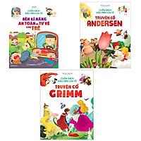 Combo 3 Cuốn Sách Đầu Tiên Của Tớ: Rèn Kĩ Năng An Toàn Và Tự Vệ Cho Trẻ + Truyện Cổ Grimm + Truyện Cổ Andersen