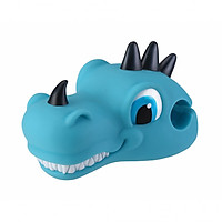 Đầu khủng long trang trí xe trượt Globber Scooter Friend - Dino xanh dương