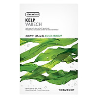 Mặt Nạ Giấy The Face Shop Real Nature Kelp Face Mask 32500165 (20g)
