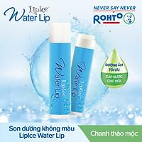 Son dưỡng không màu LipIce Water Lip mùi Chanh thảo mộc 4.3g