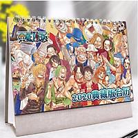 (Lịch 2020) Lịch One Piece in ảnh đẹp anime chibi idols lịch để bàn tặng ảnh thiết kế Vcone
