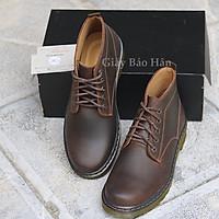 Giày Boots Nam Cổ Lửng Cao Cấp LC02