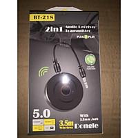 Usb Bluetooth 5.0 (3.5mm Jack) BT 218, Thiết bị chuyền tai nghe thường thành tai nghe Bluetooth BT 218,Loa thường thành loa bluetooth-hàng chính hãng