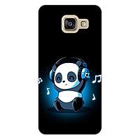 Ốp lưng dẻo cho điện thoại Samsung Galaxy A3 2016 _Panda 05