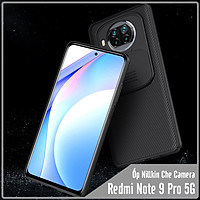 Ốp lưng cho Xiaomi Redmi Note 9 Pro 5G  - Mi 10T Lite Nillkin CamShield che camera - Hàng nhập khẩu