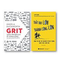Combo Sách Về Tâm Lý Thành Công: Thất Bại Lớn Thành Công Lớn + Grit Vững Tâm Bền Chí Ắt Thành Công