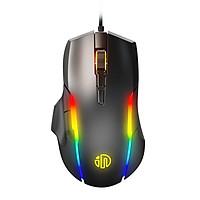 Chuột chơi game Inphic PG7 - 7 Nút điều chỉnh Tuổi thọ 10 triệu lần nhấn tích hợp LED RGB siêu đẹp - Hàng chính hãng