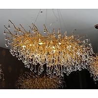 Đèn trần sirip - giọt nước - sang trọng- PL027