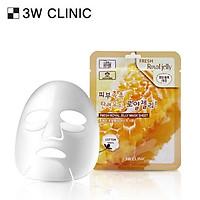 Mặt nạ dưỡng da chiết xuất từ sữa ong chúa 3W CLINIC FRESH ROYAL JELLY MASK SHEET 10 miếng/hộp