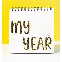 Sổ lập kế hoạch Năm mới - MY YEAR Planner 2021 by Dr Pepper*