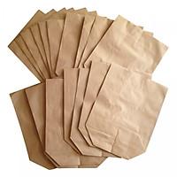 50 túi giấy xi măng gói đựng hàng loại 0.5kg giấy tốt (KT: 12x16cm)