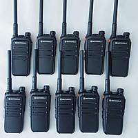 Bộ 10 máy bộ đàm Motorola CP 102 - Hàng Nhập Khẩu
