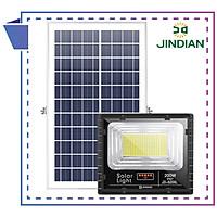 Đèn LED Năng Lượng Mặt Trời 200W   Chính hãng có Logo JINDIAN   [ Model 2020 ]
