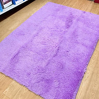 Thảm lông trải sàn 1m6x2m - màu tím