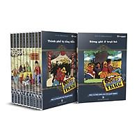 Tứ Quái TKKG - combo 10 cuốn (từ tập 1-10)