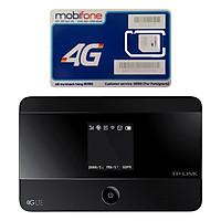 Bộ Phát Wifi Di Động 4G TP-Link M7350 300Mbps + Sim Mobifone (Trọn Gói 12 Tháng Không Cần Nạp Tiền Duy Trì) - Hàng Chính Hãng