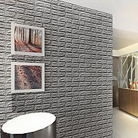 Bộ 10 Miếng Xốp Dán Tường Giả Gạch 3D (70 x 77cm)