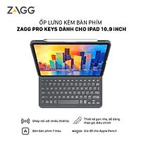 Ốp lưng kèm bàn phím ZAGG Pro Keys iPad 10.9 inch - 103407271 - Hàng chính hãng
