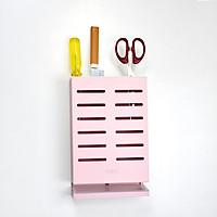 Giá để dao nhà bếp chất liệu hợp kim nhôm màu hồng K-003 cao cấp Hiwin