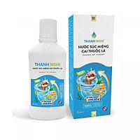 Nước súc miệng cai thuốc lá Thanh Nghị - Chai 400ml