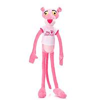 Gấu Bông Báo Hồng Pink Panther Mặc Áo Gb86 (Tặng 1 Móc Khóa Dây Da Pu Đính Đá Lấp Lánh Màu Ngẫu Nhiên)