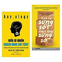 Combo 2 cuôn sách kinh tế hay: Điều Gì Khiến Khách Hàng Chi Tiền? +  Dịch Vụ Sửng Sốt Khách Hàng Sững Sờ ( Tặng kèm Postcard Happy Life)