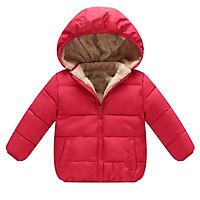 Siêu hot áo phao lót lông cừu cho bé trai và bé gái