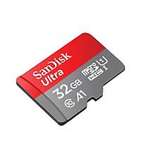 Thẻ nhớ MicroSDHC SanDisk Ultra A1 32GB 120MB/s SDSQUA4-032G-GN6MN - Hàng Chính Hãng