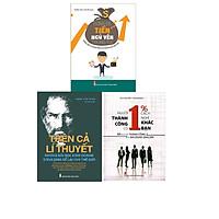ComBo 3 Cuốn: Người Thành Công Có 1% Cách Nghĩ Khác Bạn + Đừng Để Tiền Ngủ Yên Trong Túi + Trên Cả Lí Thuyết - Những Bài Học Kinh Doanh Steve Jobs Để Lại Cho Thế Giới