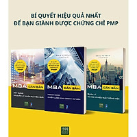 Sách - Combo 3 cuốn sách MBA Căn Bản 1, MBA Căn Bản 2, MBA căn bản 3