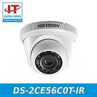Camera Kim Loại HD-TVI Dome hồng ngoại 1.0 Megapixel HIKVISION DS-2CE56C0T-IR - Hàng Chính Hãng