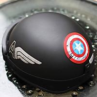 (Kèm Kính UV 7 màu) Mũ Bảo Hiểm nửa đầu SRT đủ màu, mẫu _ Nón Bảo Hiểm Phượt Nửa Đầu