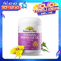 Viên uống tinh dầu hoa anh thảo Nature's Way Evening Primrose Oil 1000Mg