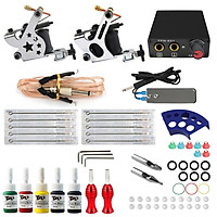 Professional Complete Tattoo Kit Set Tattoo Machine with 5 Immortal Color Inks