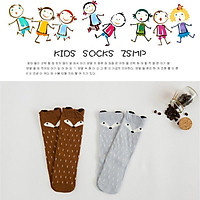 Infant socks spring and summer Thick cotton cartoon anti-skid baby socks