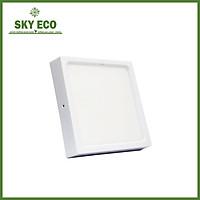 Đèn LED ốp nổi 12W hình vuông - vỏ trắng - ánh sáng trắng