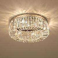 Đèn chùm pha lê ốp trần phòng khách đẹp - OPL009-N