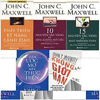 Trọn Bộ Phát Triển Bản Thân Của John Maxwell ( Phát Triển Kỹ Năng Lãnh Đạo + 10 Nguyên Tắc Vàng Để Sống Không Hối Tiếc + 15 Nguyên Tắc Vàng Về Phát Triển Bản Thân + Dám Ước Mơ, Biết Thực Hiện + Không Giới Hạn ) tặng kèm bookmark Sáng Tạo