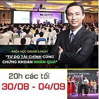 Khóa học Online 5 ngày - Tự do tài chính cùng chứng khoán nhân quả - GV Đặng Trọng Khang