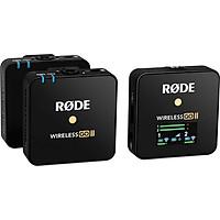 Microphone Rode Wireless Go II ( 2 phát và 1 thu ) - Chính Hãng