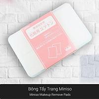 Hộp 1000 miếng bông tẩy trang Miniso