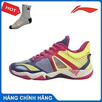 Giày cầu lông Lining dành cho nữ AYAR006-1 giày thi đấu cầu lông chuyên nghiệp - tặng tất thể thao bendu