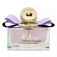 Nước Hoa Nữ Charme Omnia Crystal Hương Hoa Cỏ Ngọt Và Mát - Quý Phái, Quyến Rũ(30ml) (Chính Hãng)