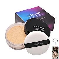 Phấn phủ bột kiềm dầu Mik@vonk Blooming Face Powder Hàn Quốc 30g NB23 # Skin Beige tặng kèm móc khoá