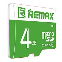 Thẻ Nhớ Micro SD 4GB Remax C4 (Xanh Lá) - Hàng Chính Hãng