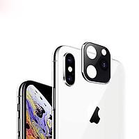 Miếng dán độ Camera dành cho iphone X ,Xs , XS Max thành Iphone 11, 11 Pro, ip 11 Pro Max