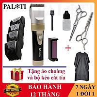 Tông đơ cắt tóc gia đình 2 Pin- Pin 200 phút Kato G5 TẶNG Kéo + Áo Choàng Cắt Tóc - Tăng đơ Nhật Bản - LT Store Mall