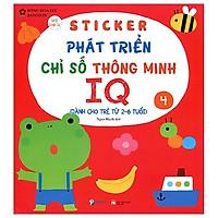 Sticker Phát Triển Chỉ Số Thông Minh IQ - Tập 4