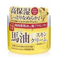 Kem dưỡng da chiết xuất từ mỡ ngựa và nhau thai ngựa - Moisture Skin Ex  Horse Oil Cream